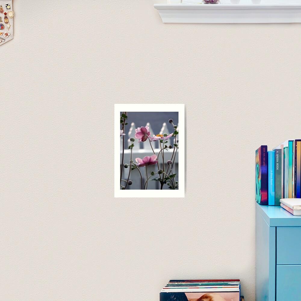 Japanese Windflowers Art Print