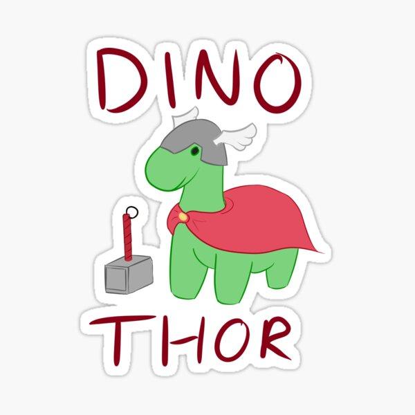 Dino - Thor Sticker
