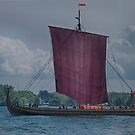The Draken Harald Harfagre at Toronto's Harbourfront by Gerda Grice