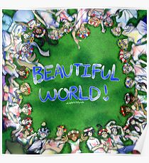 [Hetalia] Beautiful World! #10YrsOfHetalia Poster