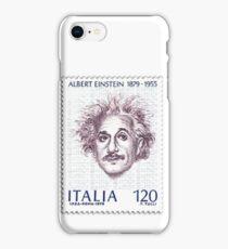 Postage Stamp Genius:  Albert Einstein iPhone Case/Skin