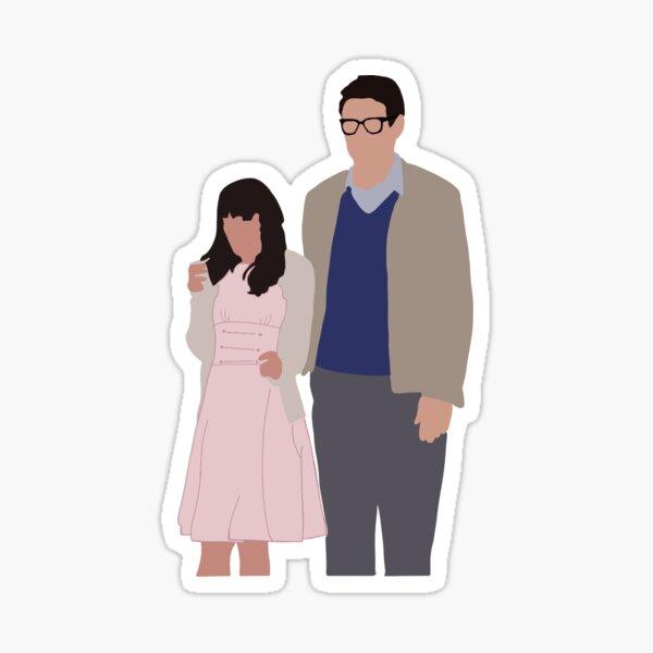Brad and Janet Finchel Sticker
