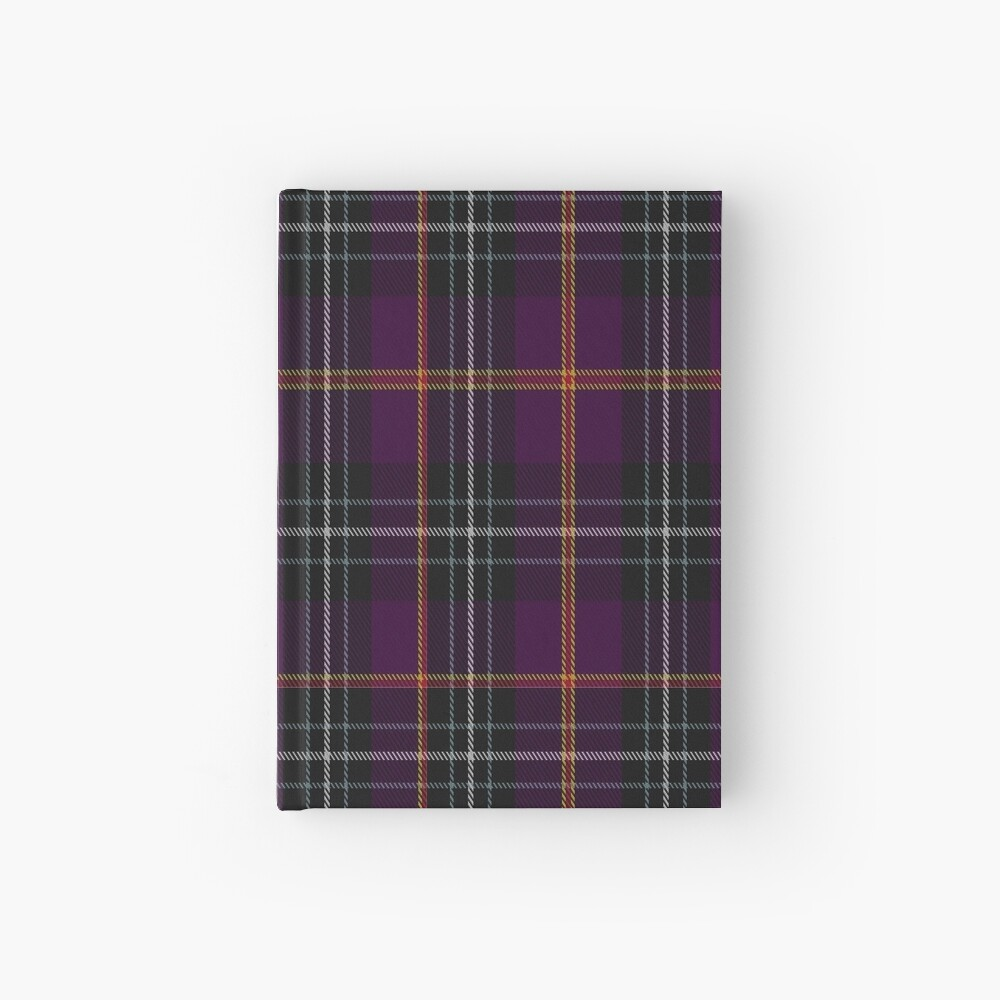 02036 Curnow of Kernow Tartan  Hardcover Journal