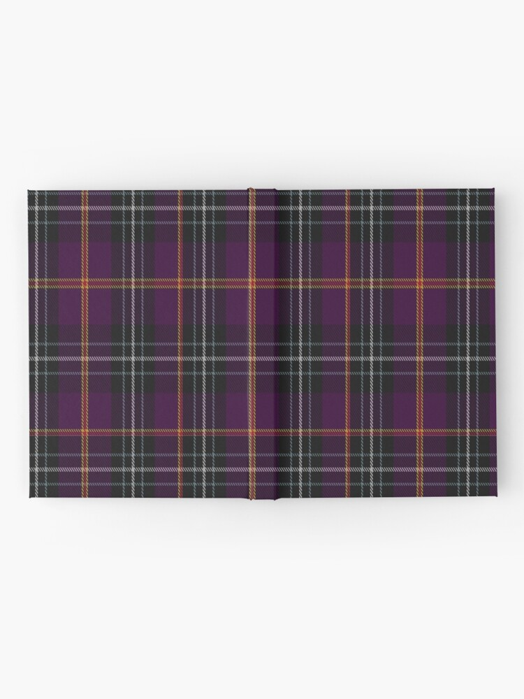 Alternate view of 02036 Curnow of Kernow Tartan  Hardcover Journal