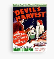 Devil's Harvest Canvas Print