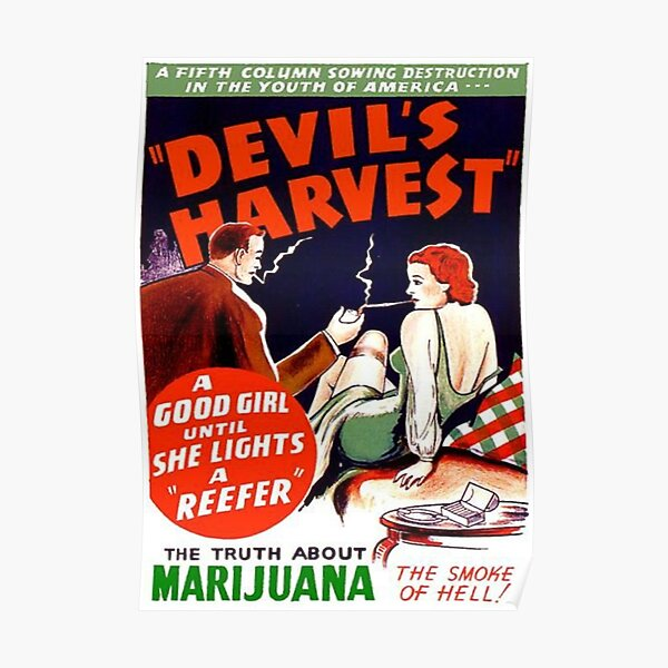 La moisson du diable Poster