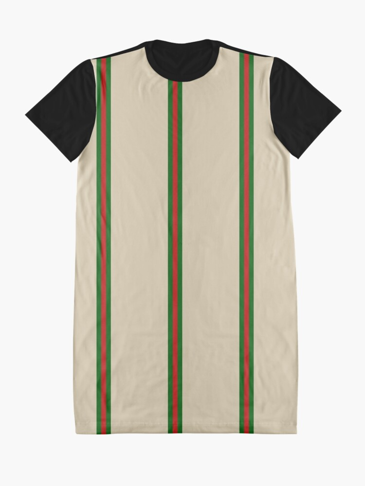 Alternate view of Gucci style Graphic T-Shirt Dress