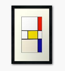 A Piet Mondrian Study Framed Print