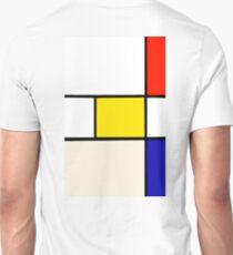 A Piet Mondrian Study Unisex T-Shirt