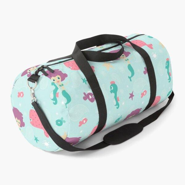 Whimsical Mermaid Duffle Bag