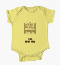 Find Your Way - Corporate Start-up Quotes Kids Clothes