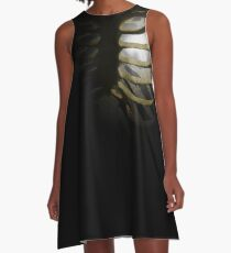 Your Soul - White - Monster 2 A-Line Dress