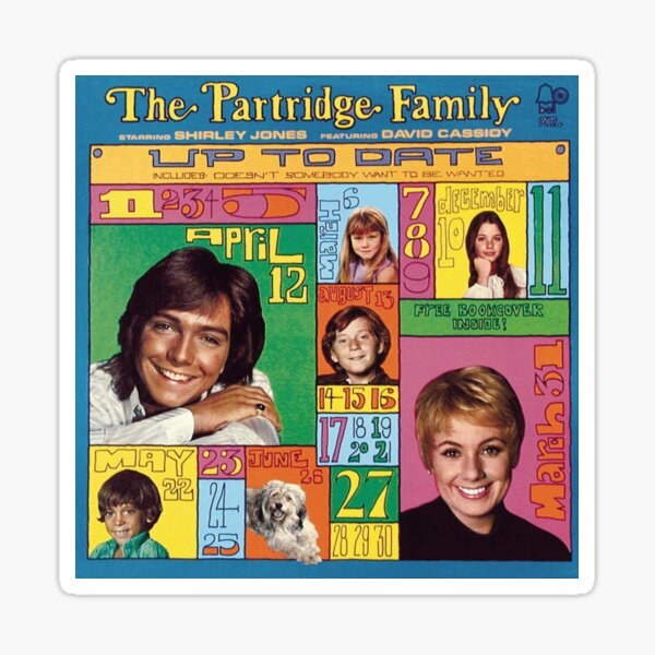Partridge Family - Up to Date Sticker