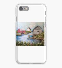 Peggy's Cove iPhone Case/Skin
