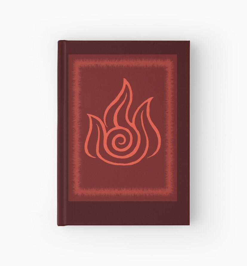 Avatar The Last Airbender Fire Nation Symbol Hardcover Journals