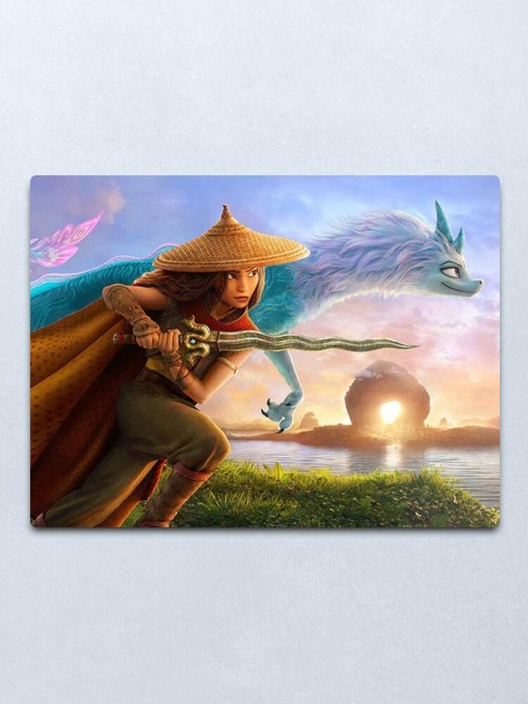 Alternate view of Raya and the Last Dragon-2021 Metal Print