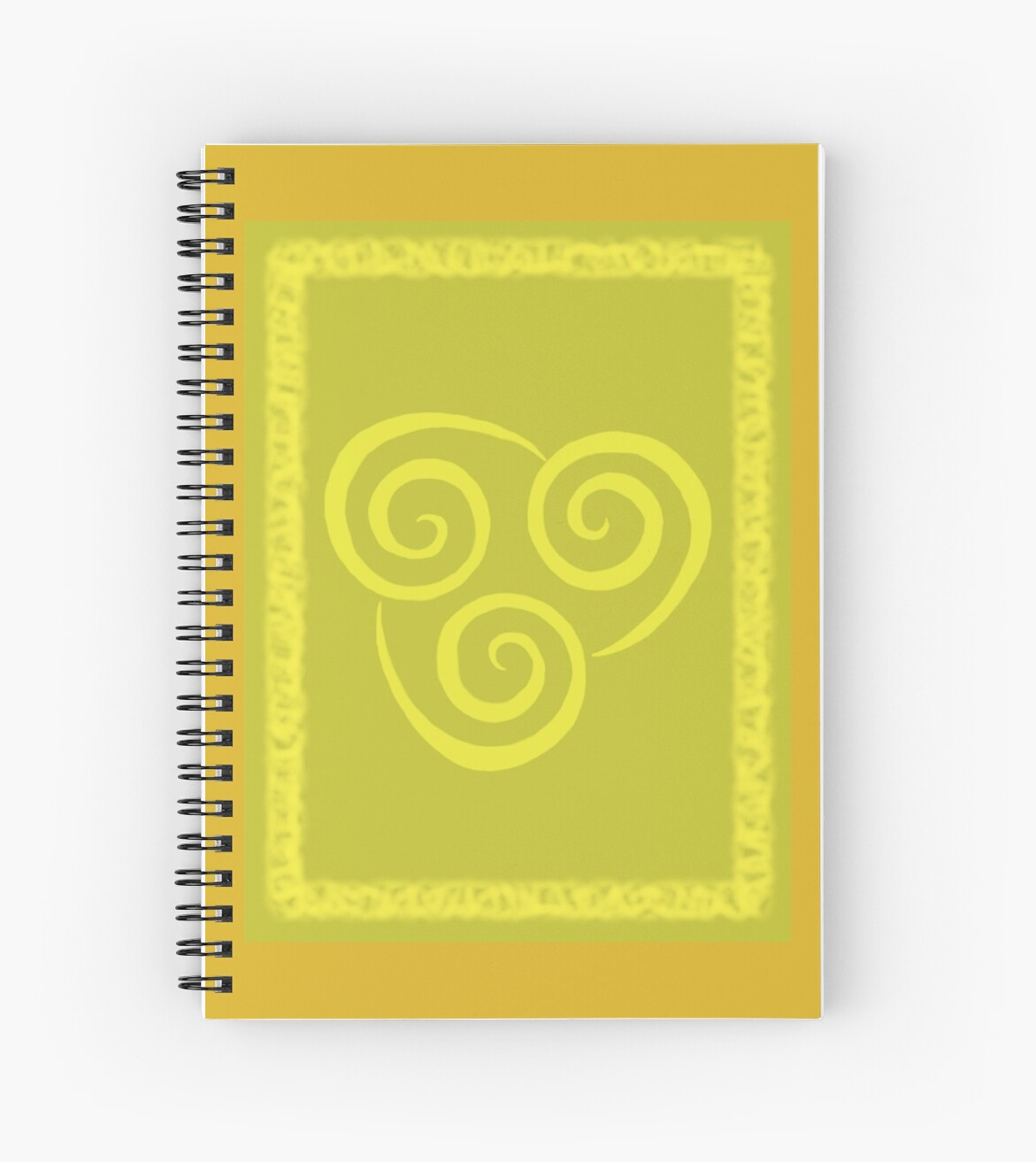 Avatar The Last Airbender Air Nomad Symbol Spiral Notebooks By