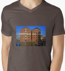 Gloucester Docks Men's V-Neck T-Shirt