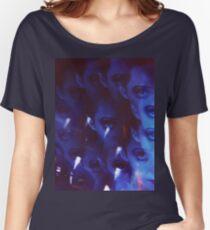 Swirls in Dark - analoges 35mm Farbfilmfoto Loose Fit T-Shirt