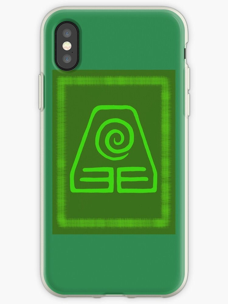 Avatar The Last Airbender Earth Kingdom Symbol Iphone Cases