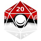 Pokeball D20 by FelixTurtle
