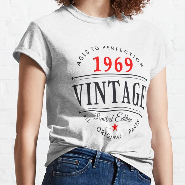 Vintage Born In 1969 Classic T-Shirt