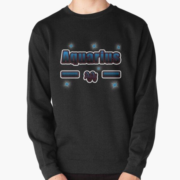 Aquarius Horoscope Pullover Sweatshirt