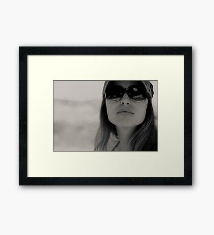 world of strong women Framed Print
