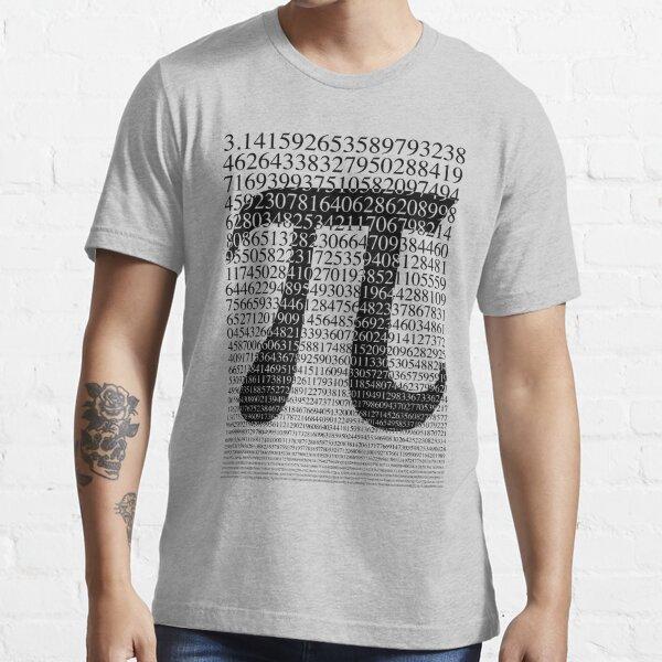 Pi negro Camiseta esencial
