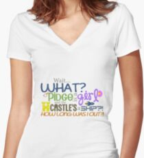 Voltron - Pidge is a girl?! Women's Fitted V-Neck T-Shirt