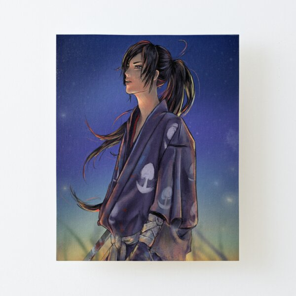 Hyakkimaru Impression montée sur toile