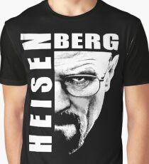 Heisenberg Black n White Graphic T-Shirt