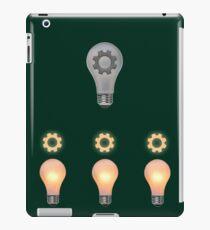 Teamwork concept iPad Case/Skin