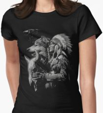 NATIVE AMERICAN Women's Fitted T-Shirt