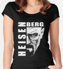 Heisenberg Black n White Women's Fitted Scoop T-Shirt