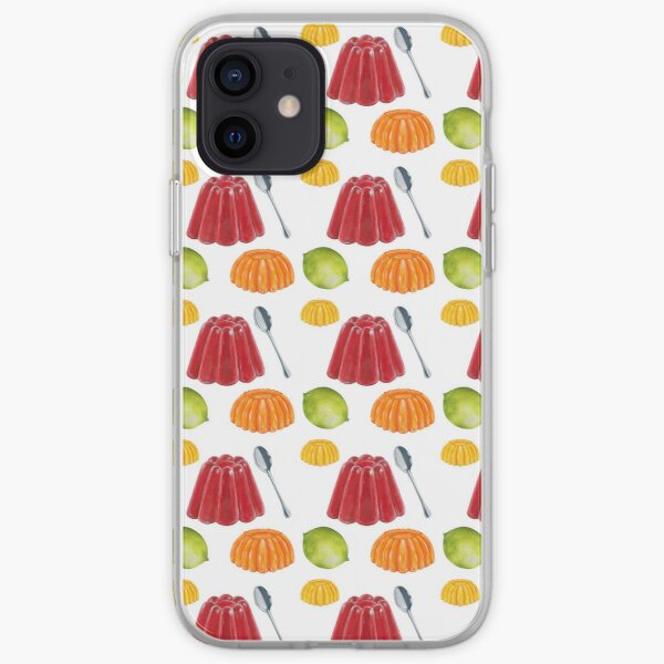 Red Jelly Yummo iPhone Soft Case