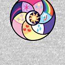 My little Pony - friendship circle by RainbowCake