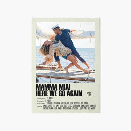 Mamma Mia! Here We Go Again Alternative Poster Art Movie Large (2) Art Board Print