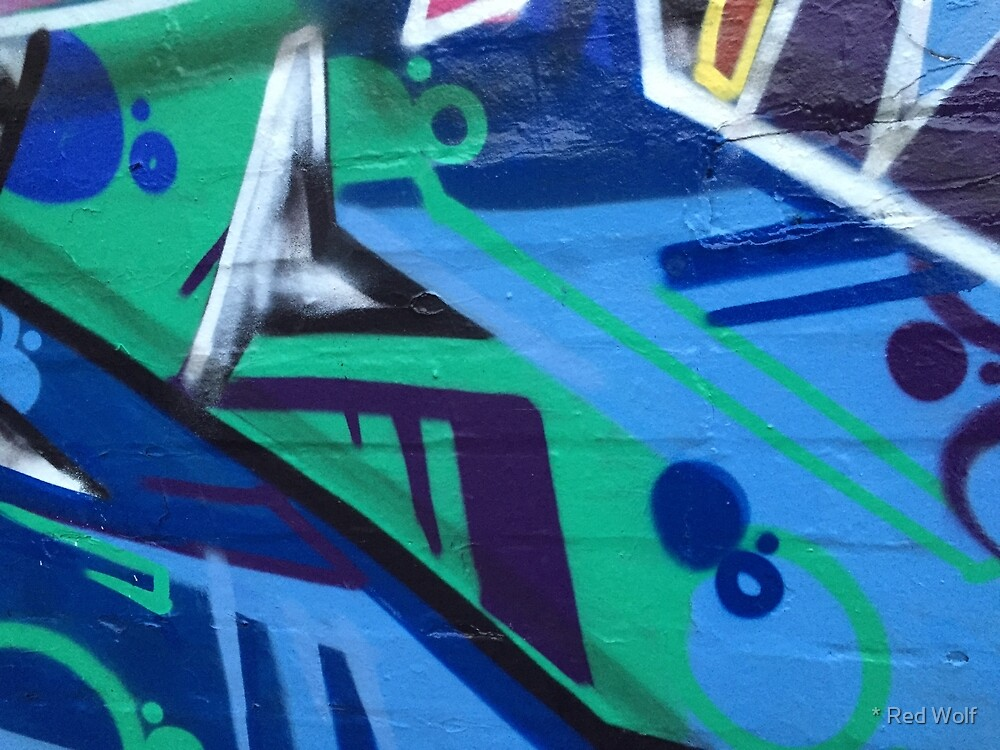 Graffiti: Blue Green Algae by * Red Wolf
