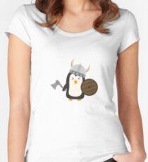 Penguin Viking   Women's Fitted Scoop T-Shirt