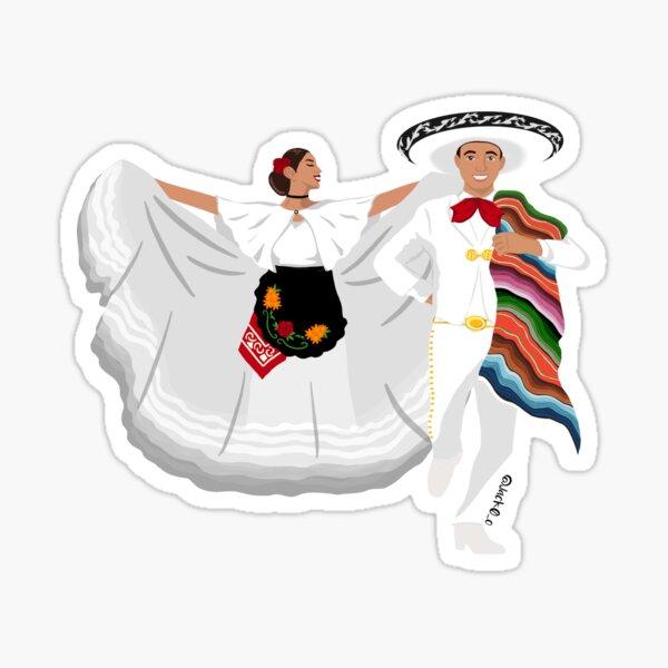Veracruz couple Sticker
