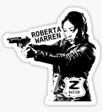 Z Nation: Roberta Warren Sticker