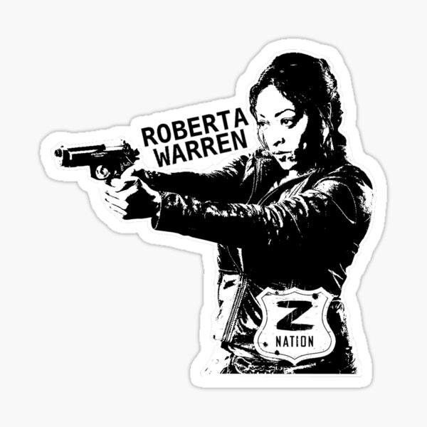 Nación Z: Roberta Warren Pegatina