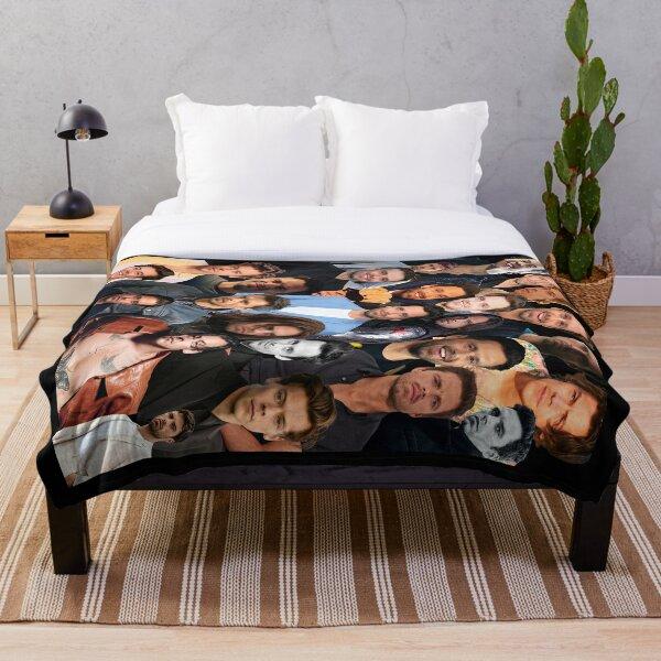 Seb Harry collage Throw Blanket