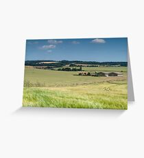 Ivol Barns and Chiltern Hills Greeting Card