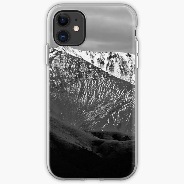 Mountains over Windwhistle, New Zealand iPhone Soft Case