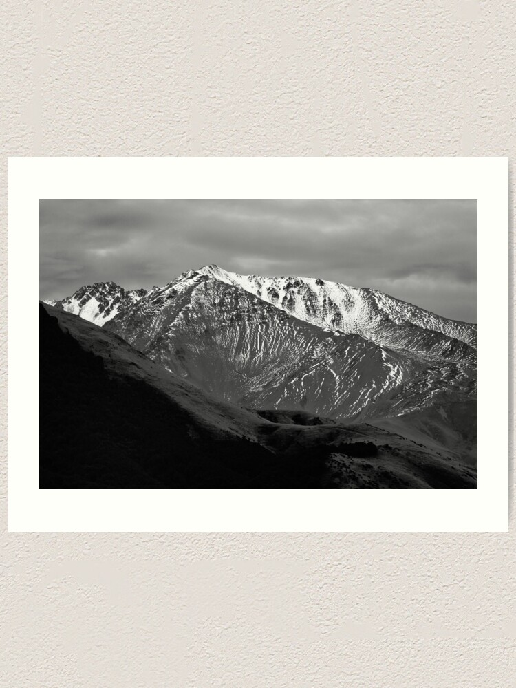 Alternate view of Mountains over Windwhistle, New Zealand Art Print