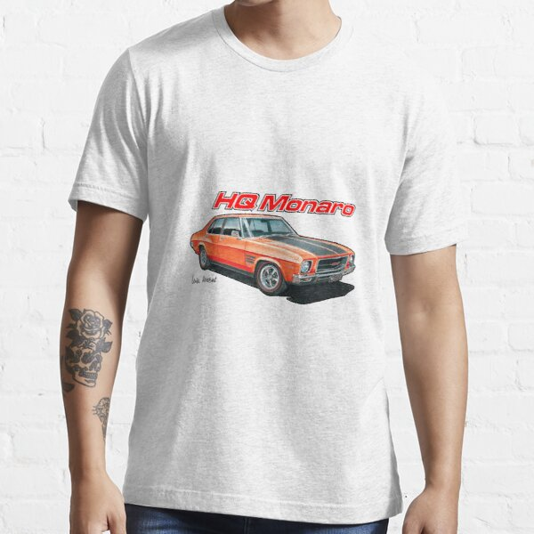 Holden HQ Monaro in Red Essential T-Shirt