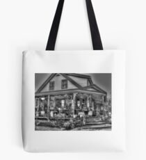Antiques & Whimsy Monochrome Tote Bag