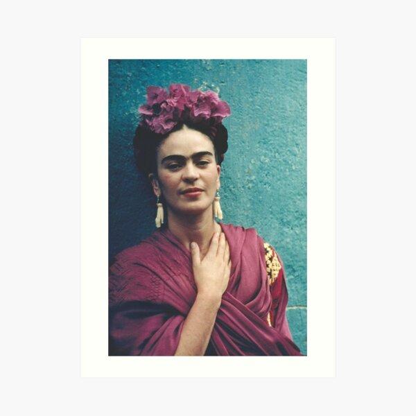 Artworker Frida Kahlo Art Print